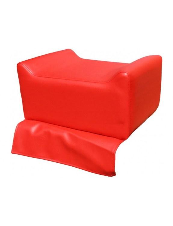 Nakładka dziecięca na fotel fryzjerski 1313 czerwona