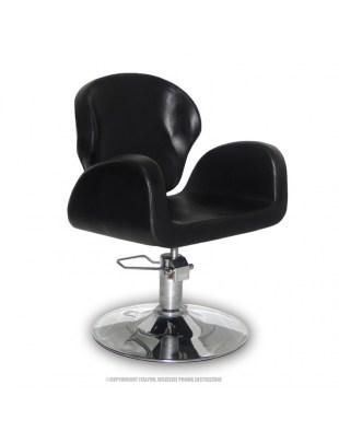 Ferrara - Fotel fryzjerski - czarny