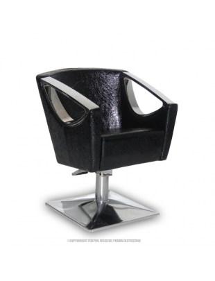 Fotel Avola - wytłaczana skóra