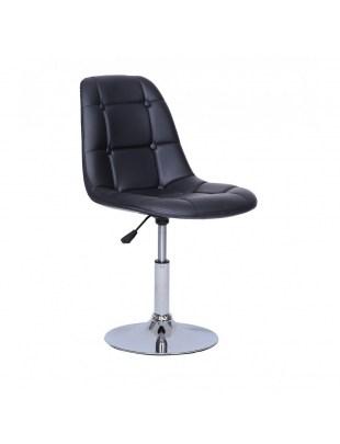 Krzesło kosmetyczne Pak - czarne