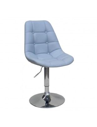 Krzesło kosmetyczne Pak - szare