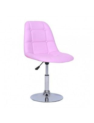 Krzesło kosmetyczne Pak - lawendowe