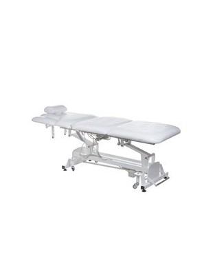Elektryczne łamane łóżko do masażu BT-2120 białe