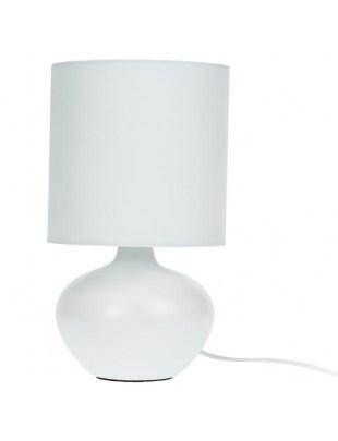 Lampka biurkowa Intesi Kim matowa biała