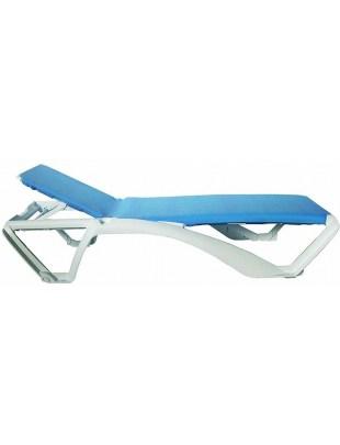 Leżak Acqua niebieski