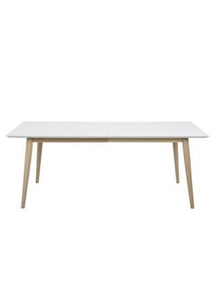 Stół rozkładany Century white/wood