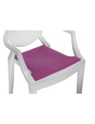 Poduszka na krzesło Royal różowa