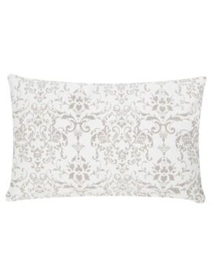 Poduszka Stonewash Ornament 30x50 biała