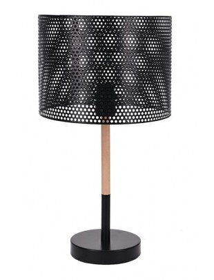 Lampka biurkowa Intesi Holi czarna