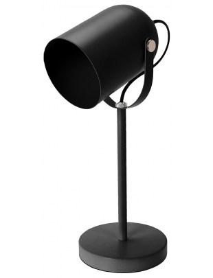 Lampka biurkowa Intesi Taylor czarna mat