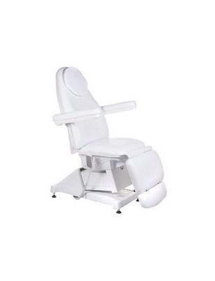 Elektryczny fotel kosmetyczny AMALFI BT-158 Biały