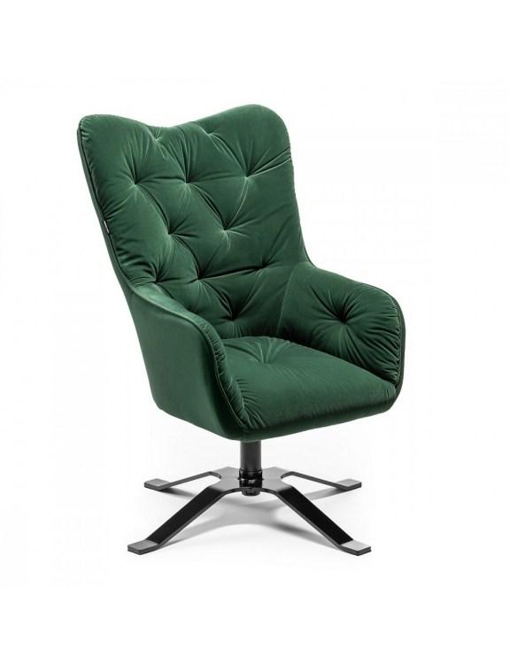 Fotel gabinetowy Heimdall butelkowa zieleń