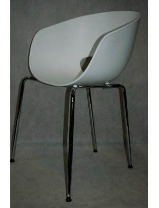 Krzesło Shell białe Outlet