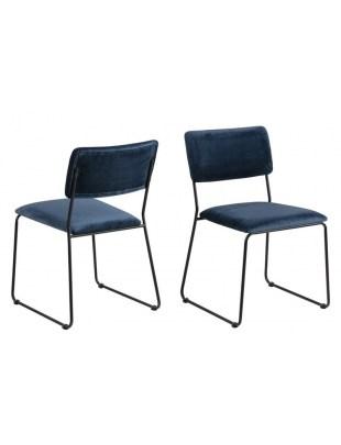 Krzesło Cornelia VIC Navy Blue