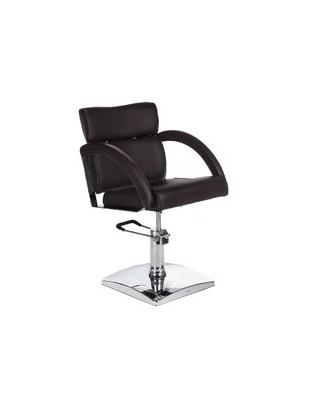 Fotel fryzjerski DINO brązowy BR-3920