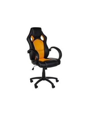 Fotel gamingowy Racer CorpoComfort BX-2052 Pomarań