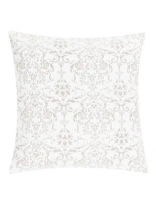 Poduszka Stonewash Ornament 50x50 biała