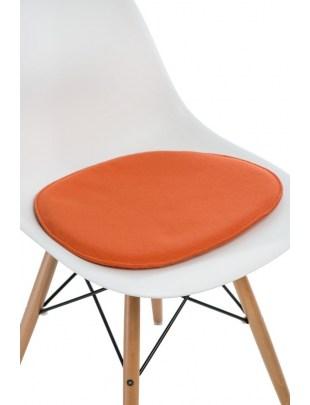 Poduszka na krzesło Side Chair pomarańcz