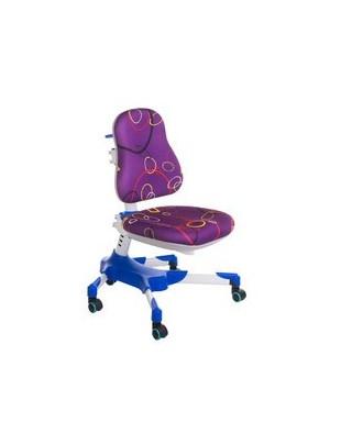 Fotel dla dzieci do biurka BX-001 Fioletowy