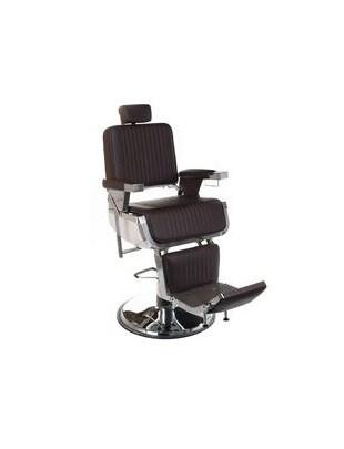 Fotel barberski LUMBER BH-31823 Brązowy