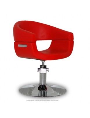 Fotel Toscania - czerwony
