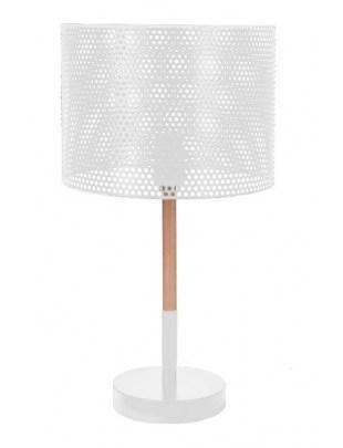 Lampka biurkowa Intesi Holi biała