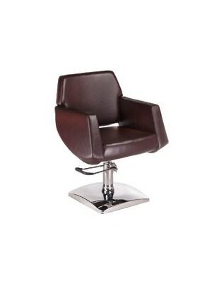 Fotel fryzjerski NICO brązowy BD-1088