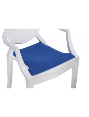 Poduszka na krzesło Royal niebieska