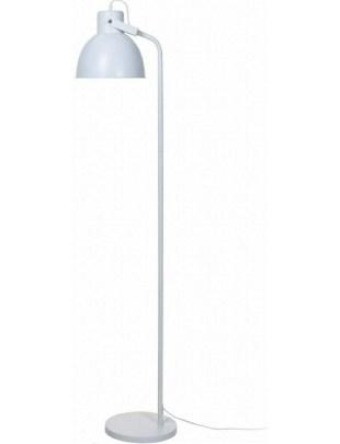 Lampa podłogowa Intesi Gloss biała