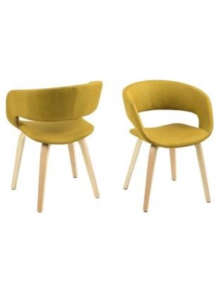 Krzesło Grace Yellow