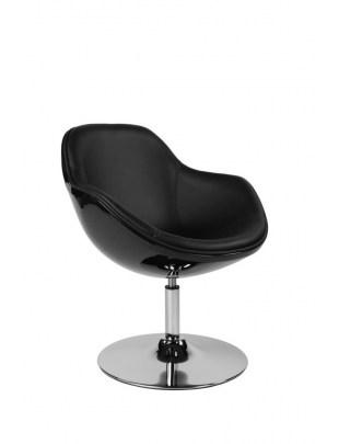 Fotel Pezzo K- czarny, S-czarne 927 Outlet