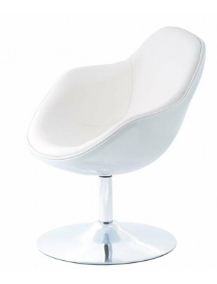 Fotel Pezzo K- biały, S-białe 906 Outlet