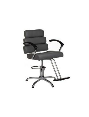 Fotel fryzjerski FIORE szary BR-3857