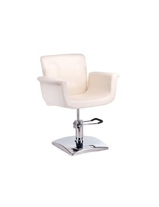 Fotel fryzjerski ELIO kremowy BD-1038