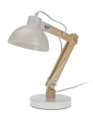 Lampka stołowa Intesi Sole biała