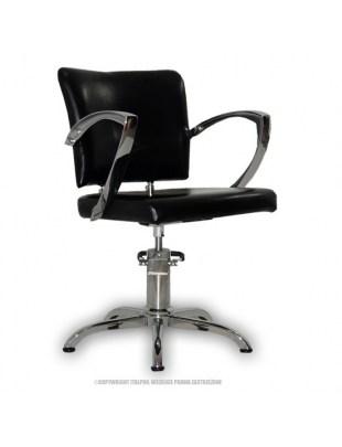 Palermo - Fotel fryzjerski czarny