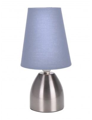 Lampa stołowa Intesi Paris szara