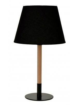 Lampka biurkowa Intesi Zee czarna