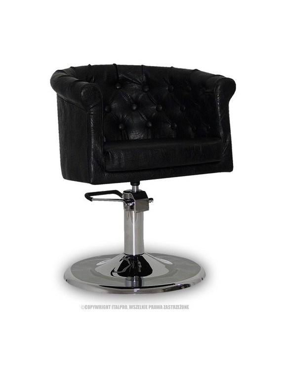 Fotel Rimini czarny