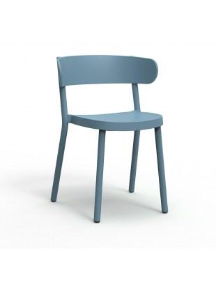 Krzesło Casino niebieskie