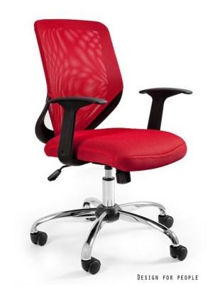Mobi - krzesło biurowe - czerwone