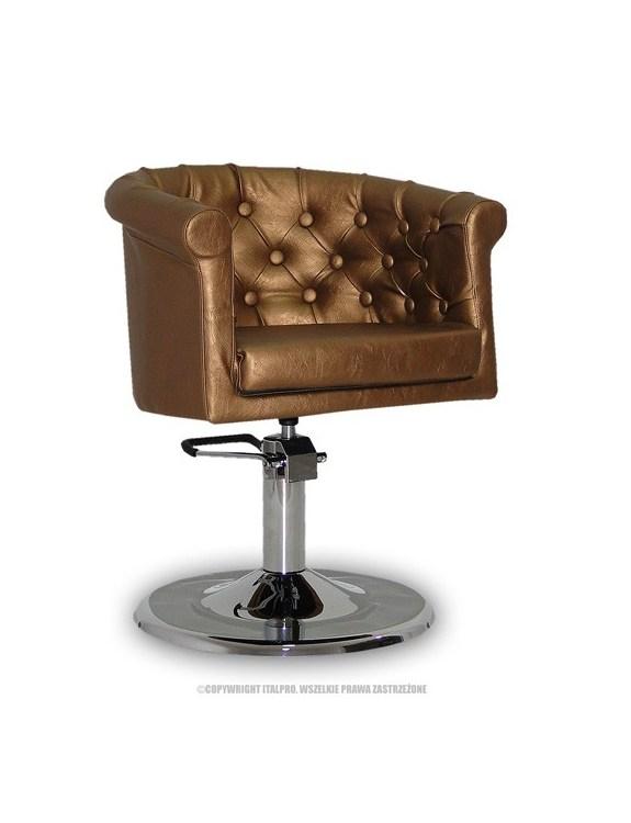 Fotel Rimini złoty