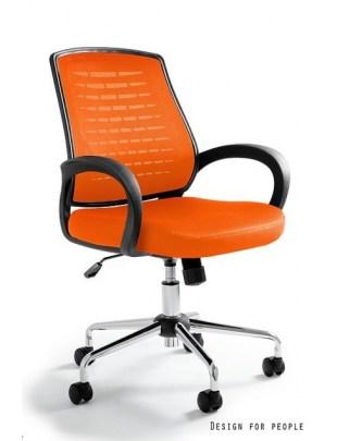 Award - fotel biurowy - pomarańczowy