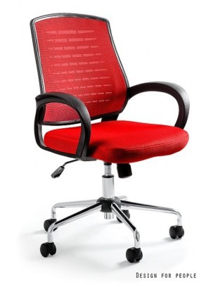 Award - fotel biurowy - czerwony