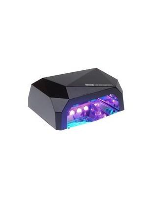 Lampa LED 36W DIAMOND do paznokci BS-557 czarn