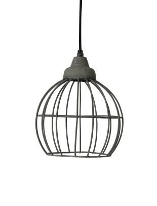 Lampa wisząca Benthe cement