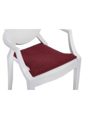 Poduszka na krzesło Royal czerwo. melanż