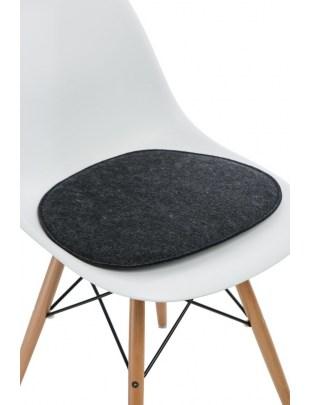 Poduszka na krzesło Side Chair szara c.