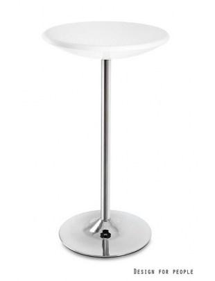 Round - stolik biały