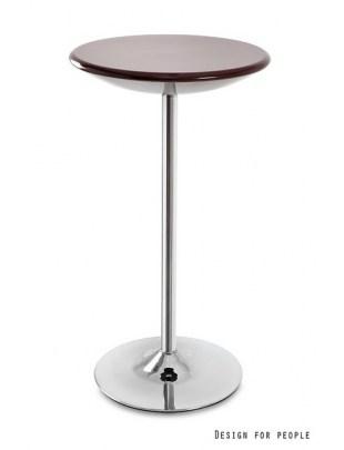Round - stolik brązowy